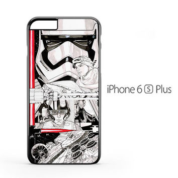 Star Wars The Force Awaken Draw iPhone 6s Plus Case