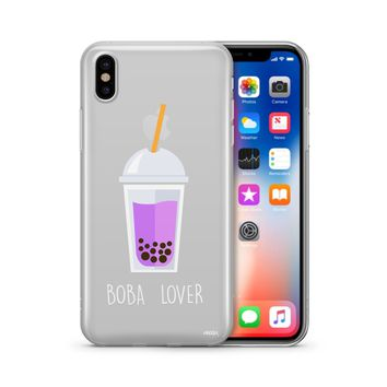 Boba Lover - Clear Case Cover