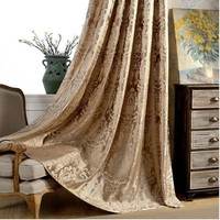 Firefly Jacquard silver wire livingroom curtains