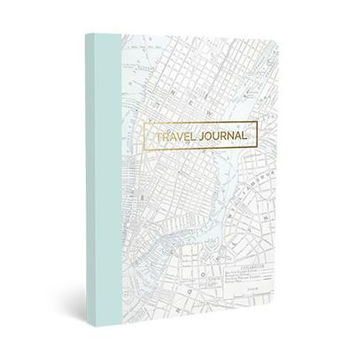 Never Stop Exploring Travel Soft Cover Journal