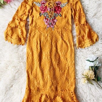 Marigold & Sky Dress
