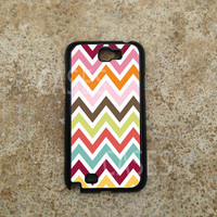 Samsung Galaxy Note 2 Case, Colorful Chevron Galaxy Note Cases, Cute Pretty Note 2 Cover