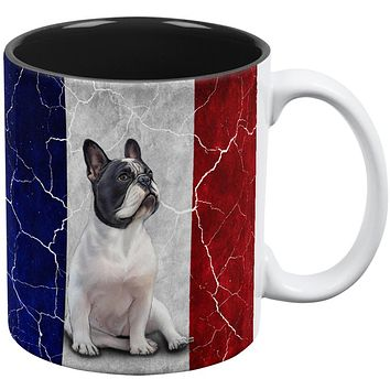 French Bulldog Live Forever Flag All Over Coffee Mug