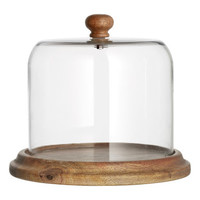 H&M Glass Dome with Plate $34.99