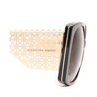 PERFORATED THIN METAL SUNGLASSES Alexander McQueen | Sunglasses | Sunglasses |