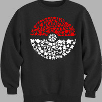 pokemon pokeball Sweater for Mens Sweater and Womens Sweater *