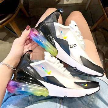 NIKE AIR MAX 270 2019 new air cushion transparent mesh sneakers #1