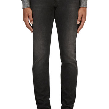 Alexander Mcqueen Washed Black Classic Jeans