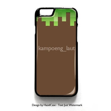 Minecraft Melted for iPhone 4 4S 5 5S 5C 6 6 Plus , iPod Touch 4 5  , Samsung Galaxy S3 S4 S5 Note 3 Note 4 , and HTC One X M7 M8 Case Cover