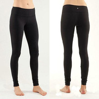 Trendsetter Lululemon Fashion Gym Yoga Running Pants Trousers Sweatpants