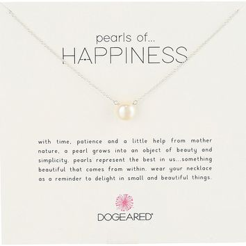 Dogeared Jewels & Gifts Pearls of Happiness Freshwater Pearl (8mm) Necklace