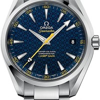 Omega Seamaster Aqua Terra James Bond Spectre Limited Edition Men's Watch 231.10.42.21.03.004
