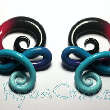 Plugs / Gauged Earrings For Stretched Ear  2g-6,5mm