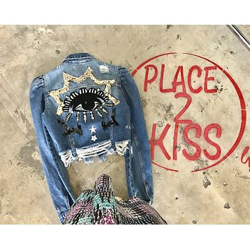 NEW Protected Denim Jacket