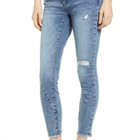 BLANKNYC The Reade Seam Detail Skinny Jeans (Burn Notice) | Nordstrom