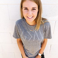 Women's God Is Greater Tee