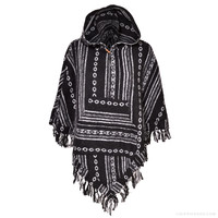 Banyan Woven Cotton Poncho on Sale for $29.99 at The Hippie Shop