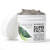 Super Dead Sea Mud Mask - Restore Your Skins Radient Glow, Fight Dry and Oily Skin, Acne, Rosacea & Psoriasis - 2oz