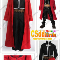 Fullmetal Alchemist Edward Elric Cosplay Costume Only Coat