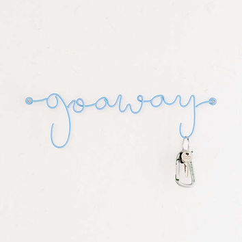 Go Away Wall Hook | Urban Outfitters