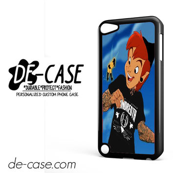 Peter Pan And Tinkerbell With Tattoo DEAL-8550 Apple Phonecase Cover For Ipod Touch 5
