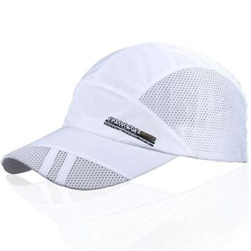 Men Cowboy Hat Fashion Summer Outdoor Sport Baseball Hat Hot Popular Running Visor Cap Adjustable One Size Six Color Cap Choice