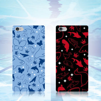Blue/Black Free! Any Phone Case CP153368