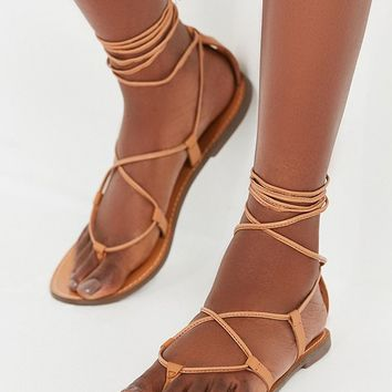 Leather Lace-Up Gladiator Sandal | Urban Outfitters