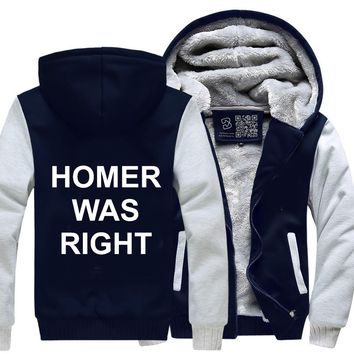 Homer Was Right, The Simpsons Fleece Jacket