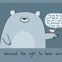 Right To Bear Arms Art Print