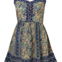 Multi Strappy Gypsy Smock Dress - Dresses - Clothing - Topshop USA