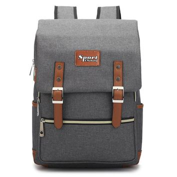 2017 new style Large Capacity design Backpack for Boys and girls School Bags Children Students Laptop Backpacks canvas Schoolbag