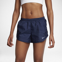 "The Nike Modern Tempo Women's 3"" Printed Running Shorts."