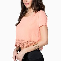 Bright Morning Crop Top