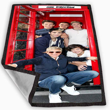 One Direction Phone Home Blanket for Kids Blanket, Fleece Blanket Cute and Awesome Blanket for your bedding, Blanket fleece **