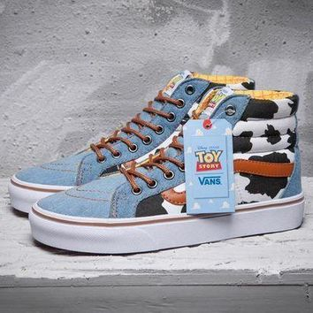 DCCKIJG Best Deal Online VANS Toy Story Era SK8-Hi Men Shoes Women Sneaker