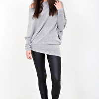 All Angles Sweater - Grey