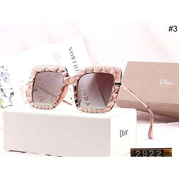 Dior 2019 new driving tour female models large frame polarized sunglasses #3