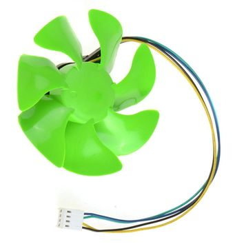 4 Pin Green 85MM Personal Computer Cooling Fans PC Computer Component Cooler Fan Accessories VCE57 P72