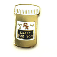 Crazy For you Lapel Pin