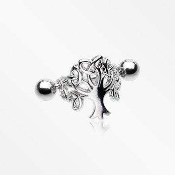 Tree of Life Cartilage Cuff Earring