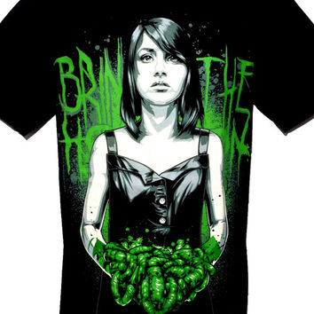 Bring Me The Horizon Metal Rock Band Graphic Tee T Shirt Size M L Black