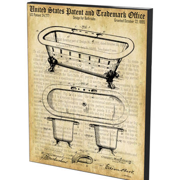 Bathtub Patent- Historic Bathroom Patents Series