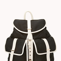 Sleek Canvas Backpack