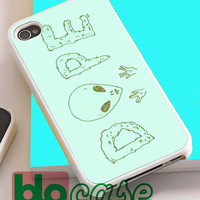 Alien Dope For Iphone 4/4s, iPhone 5/5s, iPhone 5C, iphone 6, and iPhone 6 Plus Case