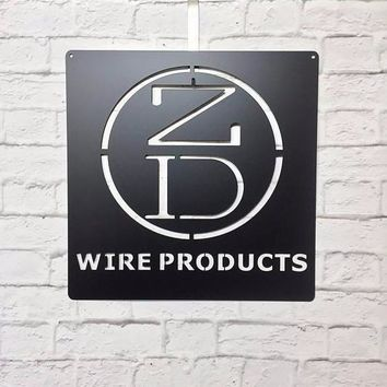 Build your own - Metal Custom Business Signs  | Business Logo Signs