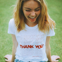 Thank You T-Shirt (brandy melville inspired)
