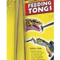 "REPTILE - FOOD - FEEDING TONGS STAINLESS STEEL - 10"" - ZOO MED/AQUATROL, INC - UPC: 97612622102 - DEPT: REPTILE PRODUCTS"