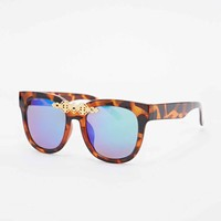 Unigold Sunglasses in Tortoiseshell - Urban Outfitters