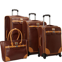 Adrienne Vittadini London Bridge 4 Piece Spinner Luggage Set - eBags.com